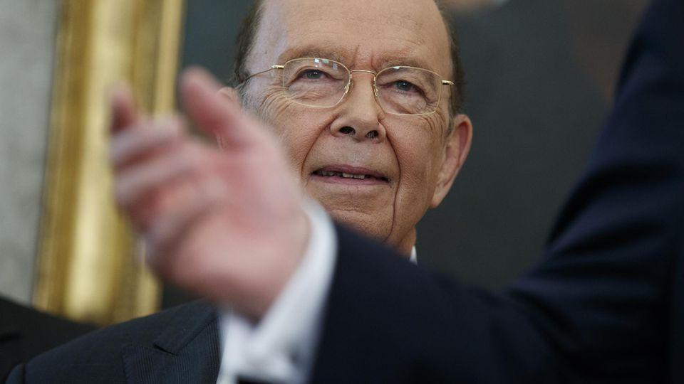Paradise Papers zeigen Nutzung von Steueroasen durch Politker und Konzerne: US-Politiker Wilbur Ross