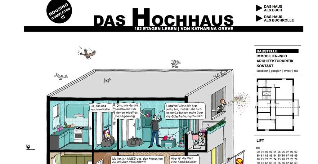Das Hochhaus - Website        Das Hochhaus - BUCH      Das Hochhaus - BUCHROLLE