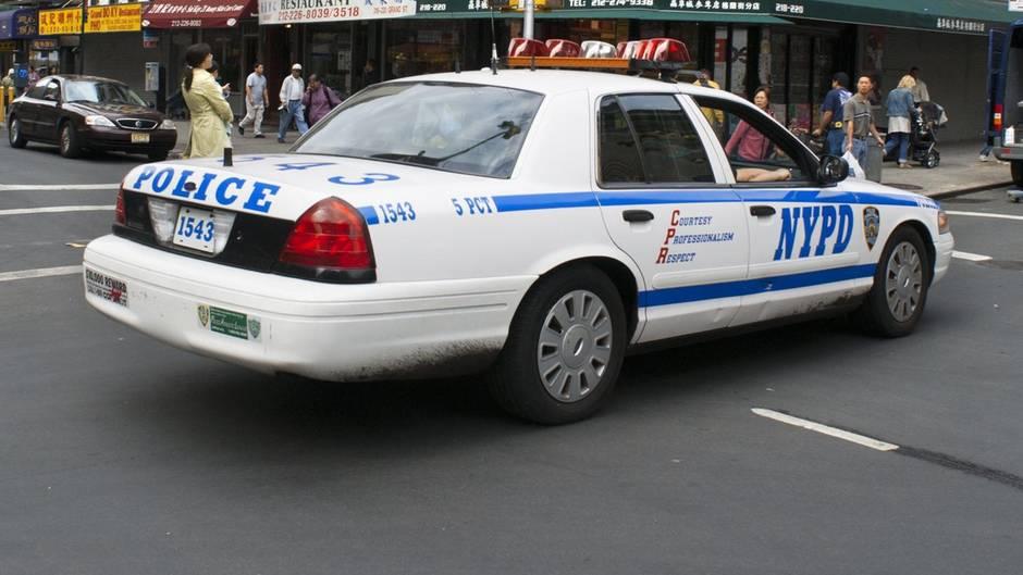 New York Polizeiwagen