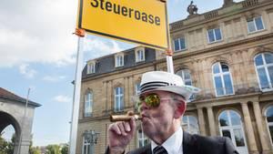 Steueroasen-Protest