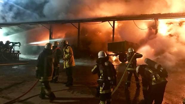 Nachrichten aus Deutschland: Feuer in Bochum