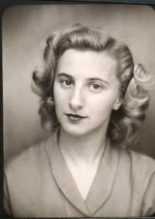 "Hanni Lévy alias ""Hannelore Winkler"" 1944."
