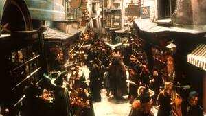 "Die Winkelgasse aus dem Film ""Harry Potter"""