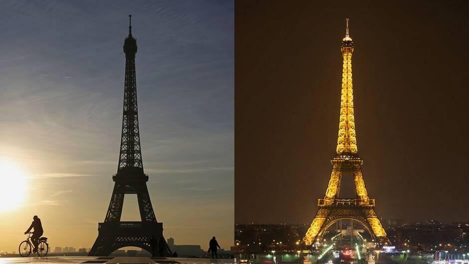 Urlaubsfotos: Zu dieser Tageszeit ist es illegal, den Eiffelturm zu fotografieren