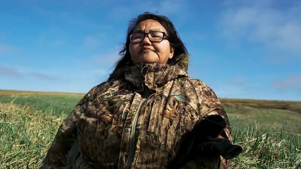 Susan, die Mutter von Chris. Sie hatte ihren Sohn mit dem Wal fotografiert und das Foto dann im Internet gepostet