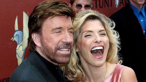 Chuck Norris und seine Frau Gena