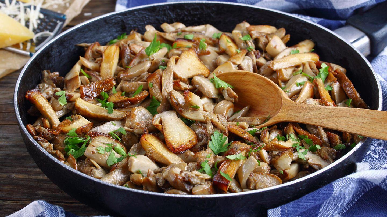 Wenn Sie Pilze richtig zubereiten und lagern, können Sie diese ohne Weiteres am nächsten Tag aufgewärmt verzehren. Bereiten Sie die Pilze frisch zu, kühlen Sie das Pilzgericht nach der Zubereitung rasch ab und bewahren Sie die Reste maximal einen Tag bis höchstens zwei Tage bei ca. vier Grad Celsius im Kühlschrank auf.