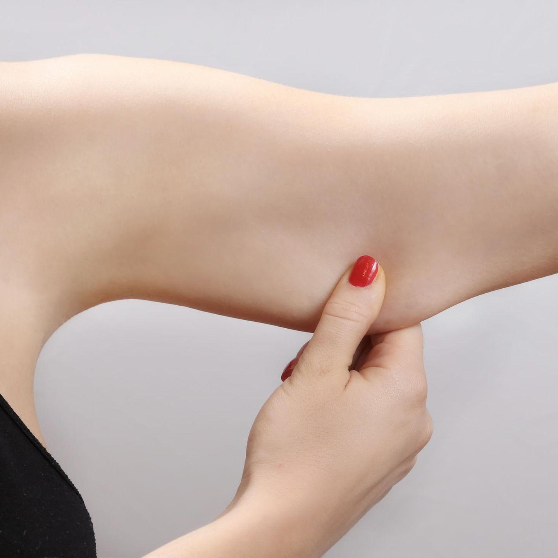 Wie man Gewicht verliert Arme und Rücken schnell essen