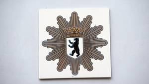 Das Berliner Polizei Wappen