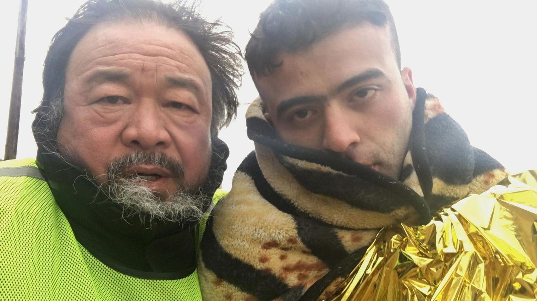 """Ai Weiwei: Am 7. November feierte sein Film """"Human Flow"""" Deutschlandpremiere, am 16. November kommt er in die Kinos"""