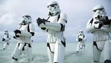 """Stormtroopers in einer undatierten Szene aus dem Film """"Rogue One: A Star Wars Story"""""""