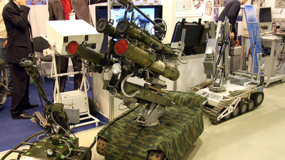 Der MRK-27 BT soll mit seiner schweren Bewaffnung Sturmangriffe unterstützen.
