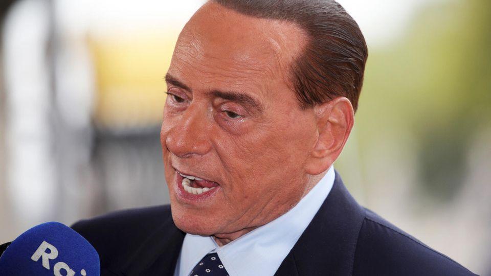 Silvio Berlusconi ist 81