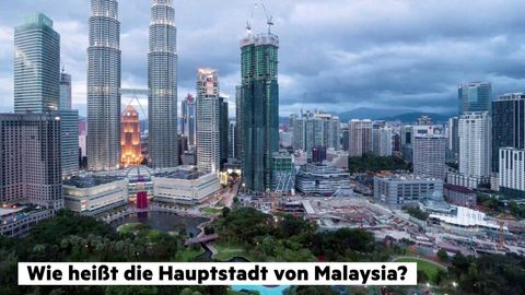 Die Hauptstadt von Malaysia: Kuala Lumpur