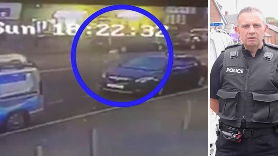 Schockvideo Polizei Blackpool