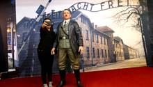 Figur von Adolf Hitler in einem Museum