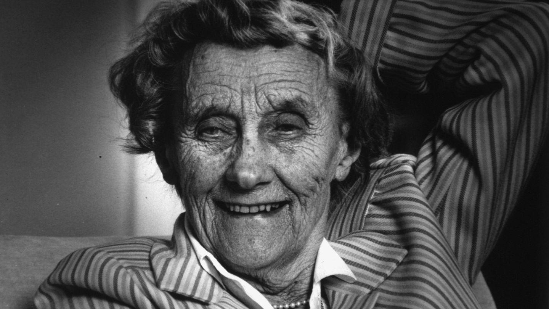 Porträt von Astrid Lindgren im Jahre 2002