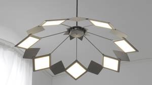 Deckenlampe mit OLED-Panels: die neue Ikea Vitsand.