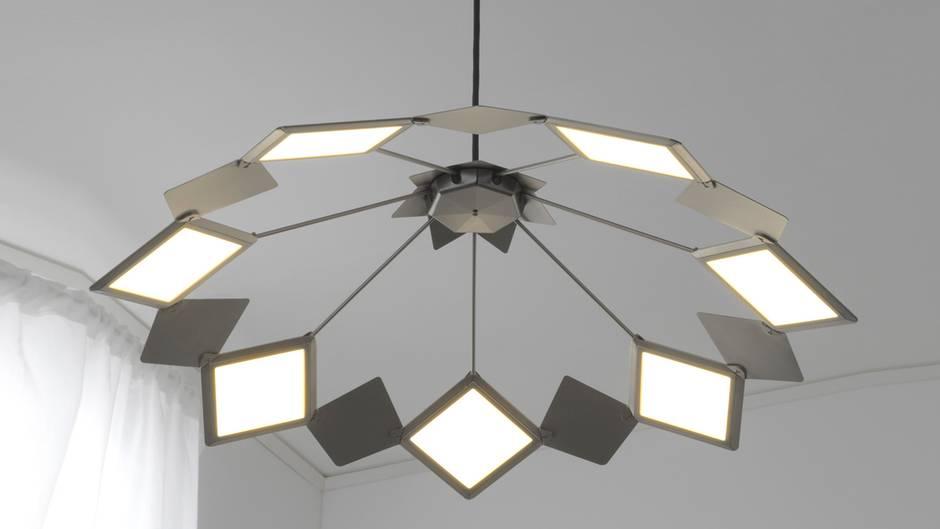 Moderne Lampen 13 : Ikea vitsand: deckenlampe mit oled beleuchtung stern.de