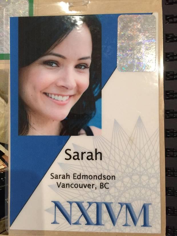 Sarah Edmondson war ein wichtiges Mitglied von NXIVM.