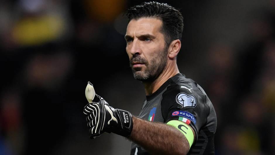 Gianluigi Buffon, Torwart von Italien