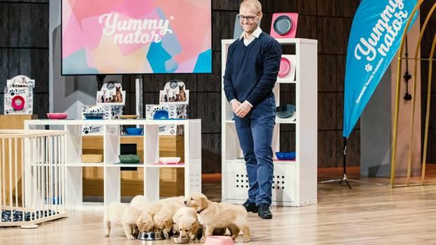 """Yummynator-Gründer Marcus König in der """"Höhle der Löwen"""""""