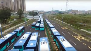 Die erste Großlieferung an Shenzhen.