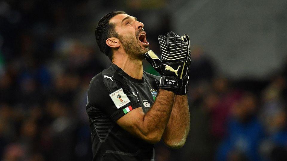 Gigi Buffon verzweifelt - Italien ist raus