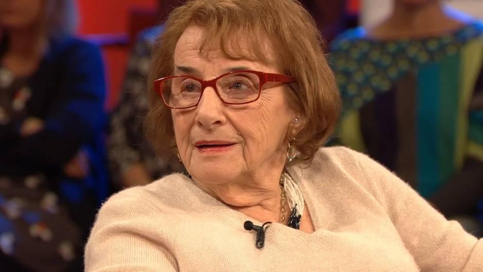 """Hanni Lévy live zu Gast bei stern TV: """"Ich musste mich immer möglichst so verhalten, wie jeder andere"""""""