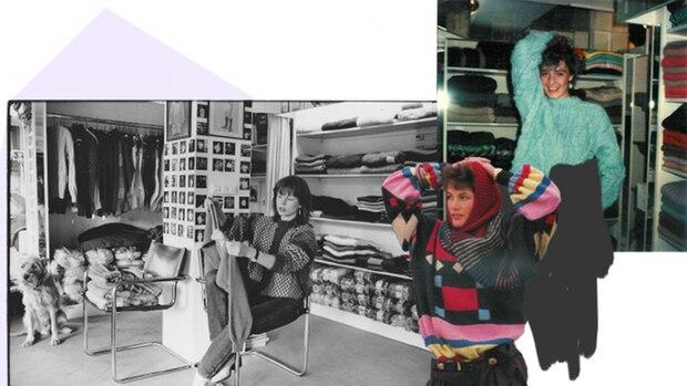 """Sie beschließt Modedesignerin zu werden und gründet zusammen mit ihrem Lebensgefährten Ralph Larouette das Stricklabel """"Viva"""". Andie McDowell etwa war dort Kundin, oder die Fotografin Ellen von Unwerth"""