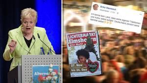 """Erika Steinbach (Archivbild) stört sich am """"Lichtermarkt"""" in Elmshorn"""