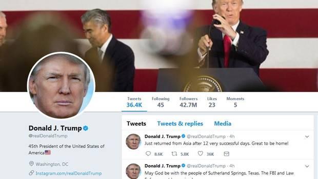 Donald Trump Twitteraccount