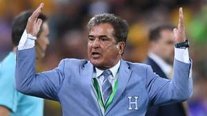 Honduras Nationaltrainer Jorge Luis Pinto