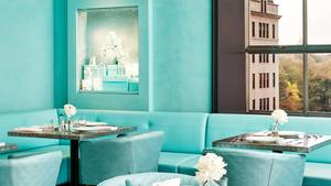 Das Blue Box Café bei Tiffanys: wie das Innere einer Schmuckschachtel
