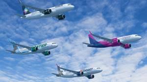 Von der US-Investmentgesellschaft Indigo Partners hat Airbus den größten Auftrag der Konzerngeschichte erhalten: über 430 Mittelstreckenflugzeuge der A320-Familie.