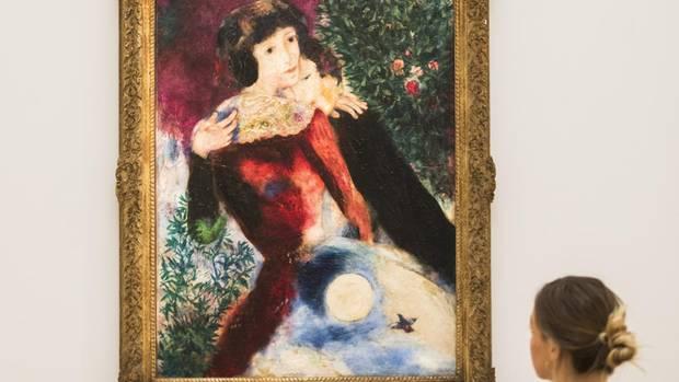 """""""Les Amoureux"""" von Marc Chagall"""