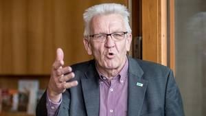 Jamaika-Sondierungen: Winfried Kretschmann wettert gegen die CSU