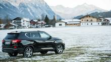 SsangYong Rexton e XDI 220 4WD - nur als 181 PS starker Diesel zu bekommen