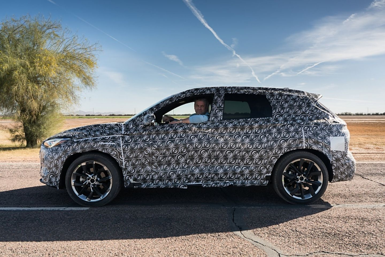 Infiniti QX 50 Prototyp - ein neuer Gegner für Audi Q5, BMW X3 und Co.