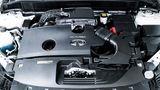 Infiniti QX 50 Prototyp - der aufgeladene Vierzylinder leistet 200 kW / 272 PS und 380 Nm