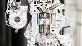 Infiniti QX 50 Prototyp - Querschnitts des Motors