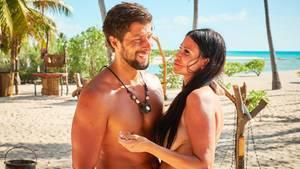 """""""Adam sucht Eva"""": Djamila Rowe und Christian scheinen sich gut zu verstehen"""