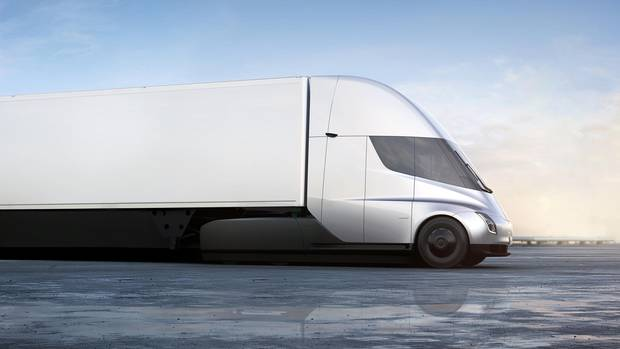 Vision des Tesla-Lkw
