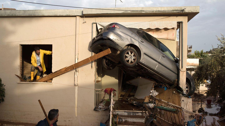 Der Sturm verursachte schwere Schäden in Griechenland, mindestens 16 Menschen starben