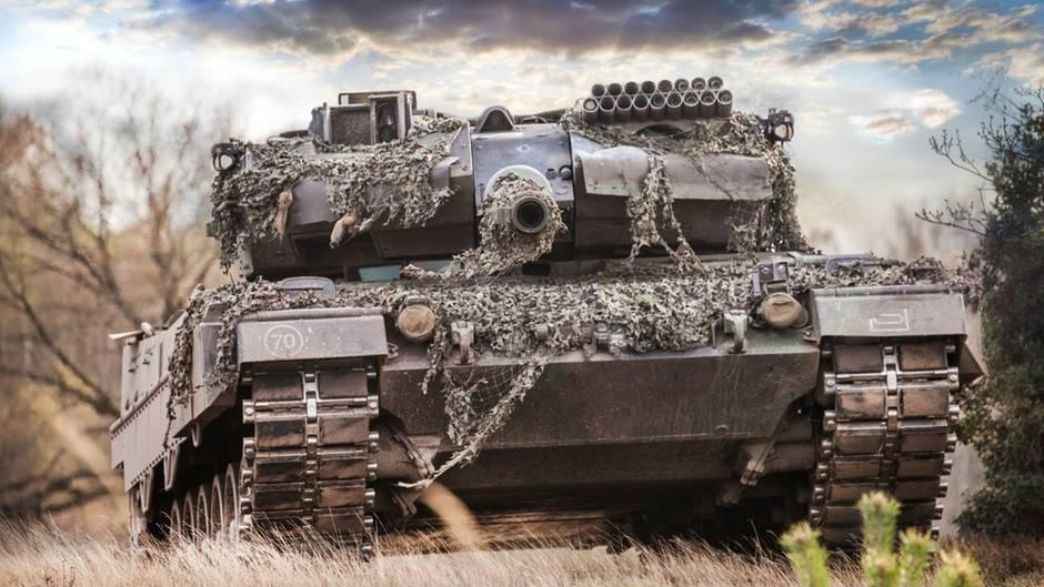 Der Leopard 2 zählt nach wie vor zu den besten Kampfpanzern der Welt (Archivbild).