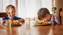 Kinder wollen ihr Gemüse nicht essen