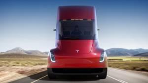 Tesla präsentiert Elektro-Lkw in Los Angeles