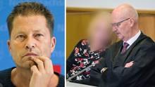 Til Schweiger (l.) erschien zu dem Prozesstermin mit der Klägerin nicht persönlich