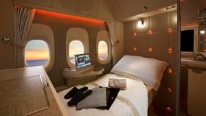 Das neue First-Class-Design von Emirates und Mercedes