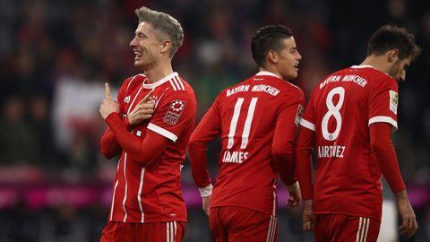 Bundesliga: Robert Lewandowski jubelt